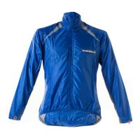 Ladies-Rain Jacket-Blue Indola