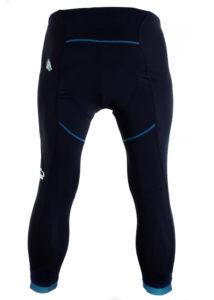 vs5 womens black mountain bike lycra pants 3_4 back