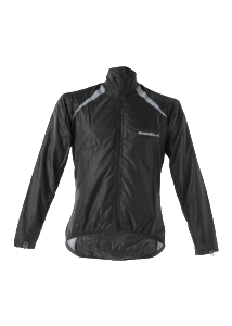 Indola Ladies Black Rain Jacket Basic
