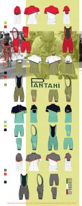Pantini Range Girona Indola Cycling Gear 2