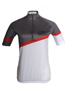 Charcoal Pantini Ladies Lycra Cycling Shirt