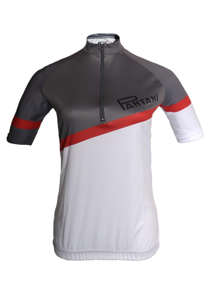 Charcoal Pantini Ladies Lycra Cycling Shirt