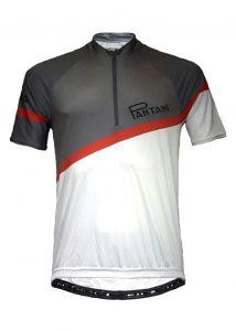 Charcoal Pantani Mens Lycra Cycling Shirt