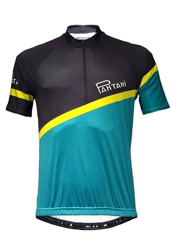 Mint Pantani Mens Lycra Cycling Shirt