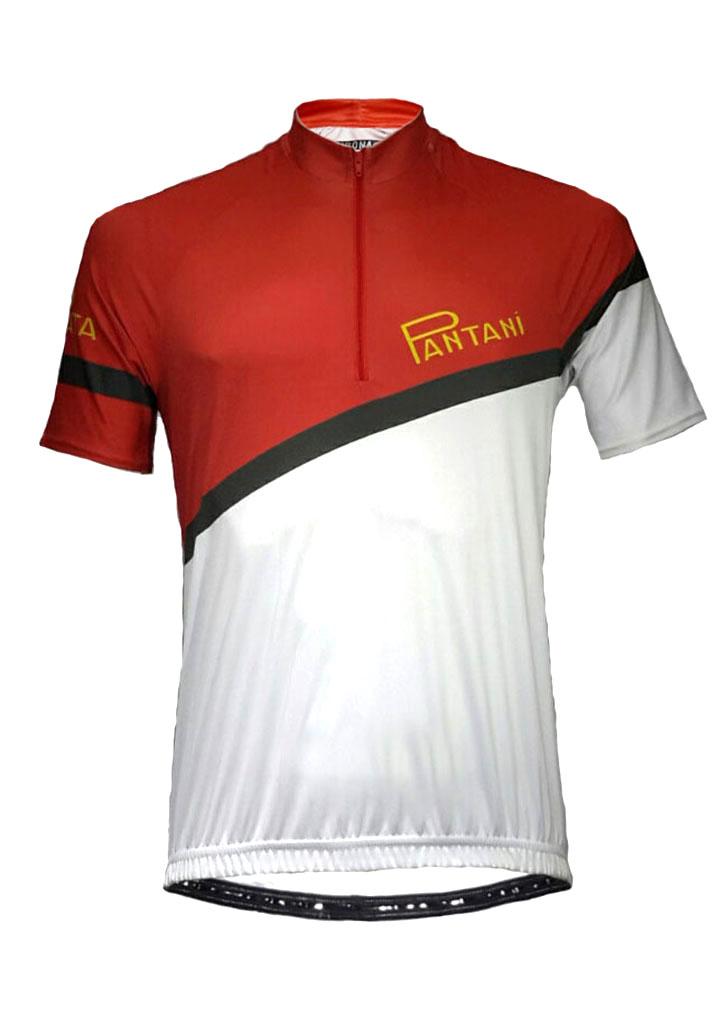 Red Pantani Mens Lycra Cycling Shirt Product