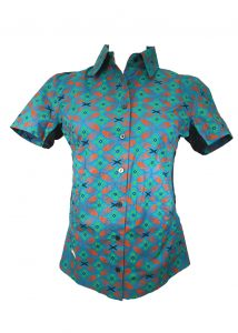 african-riding-shirt-ladies-green-orange