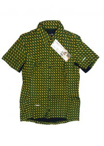 african-riding-shirt-yellow and green spot