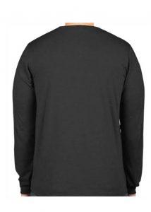 Cotton Lycra Long Sleeve T Back