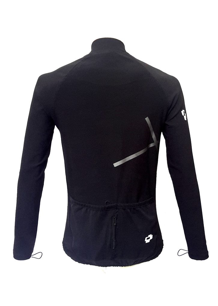 Winter Cycling Jacket Back