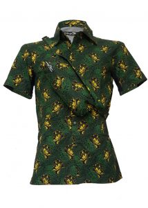 Indola African Riding Shirt Yellow Flower